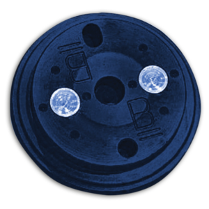 "AM-113B Chapa de Colagem Optronics ""B"" Azul 3D"