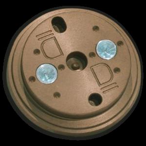 """AM-113E Chapa de Colagem Optronics """"D"""" Marrom 7D"""