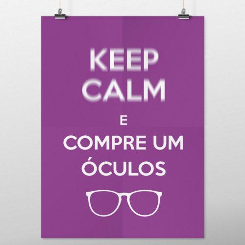 poster decoração consultório keep calm martinato
