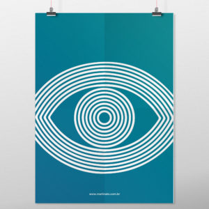 MM-574D Poster Arte Olho