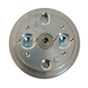 """AM-113H Chapa de Colagem Optronics """"C"""" Cinza 6D"""