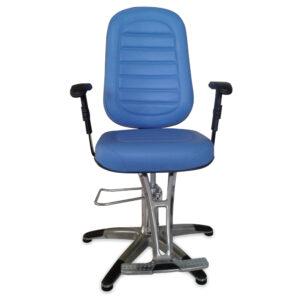 MM-560NA Cadeira para Consultório Azul