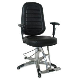 MM-560NP Cadeira para Consultório Preta