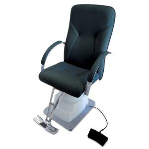 MM-560Q Cadeira Oftálmica Elétrica Preta