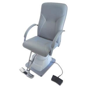 MM-560QC Cadeira Oftálmica Elétrica Cinza