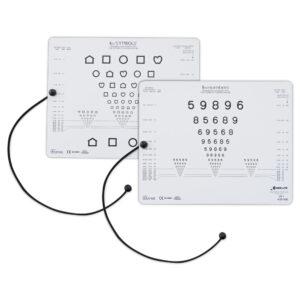 LM-802 Teste de Acuidade Visual para Perto