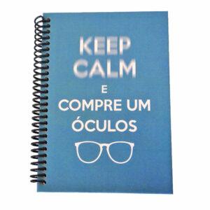 JM-100 Caderno Keep Calm