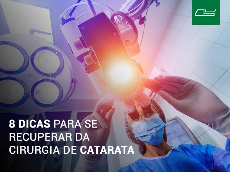Read more about the article Cirurgia de catarata: 8 dicas para minimizar o tempo de recuperação