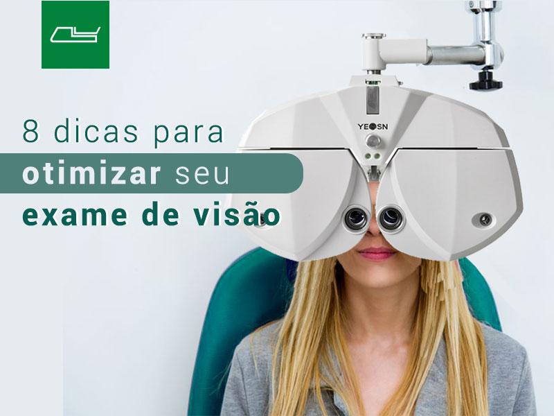 Read more about the article 8 formas de reduzir o tempo de exame de visão